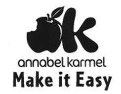 K ANNABEL KARMEL MAKE IT EASY