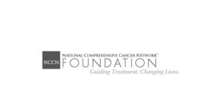 NCCN NATIONAL COMPREHENSIVE CANCER NETWORK FOUNDATION GUIDING TREATMENT, CHANGING LIVES.