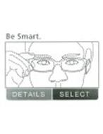 BE SMART. DETAILS SELECT