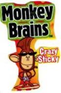 MONKEY BRAINS CRAZY STICKY