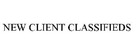 NEW CLIENT CLASSIFIEDS