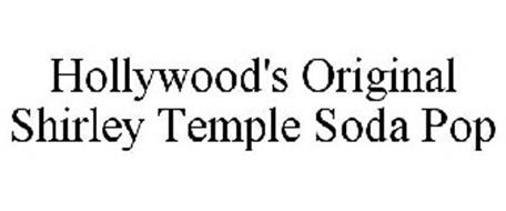 HOLLYWOOD'S ORIGINAL SHIRLEY TEMPLE SODA POP