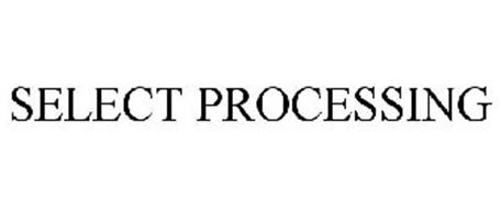 SELECT PROCESSING