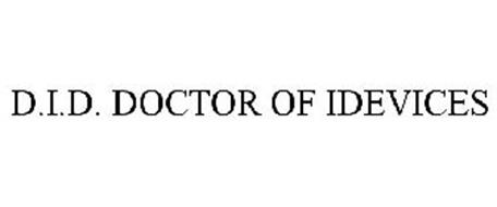 D.I.D. DOCTOR OF IDEVICES