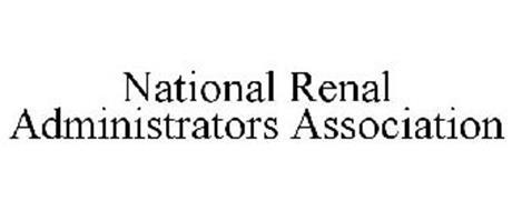 NATIONAL RENAL ADMINISTRATORS ASSOCIATION