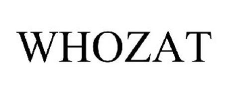 WHOZAT