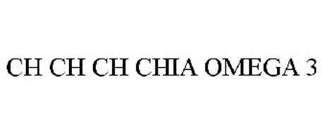 CH CH CH CHIA OMEGA 3