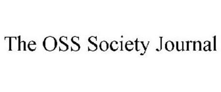 THE OSS SOCIETY JOURNAL