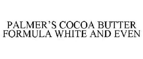 PALMER'S COCOA BUTTER FORMULA WHITE AND EVEN