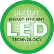 BURTON ENERGY EFFICIENT LED TECHNOLOGY
