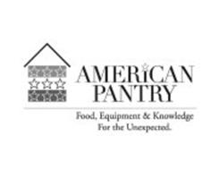 AMERICAN PANTRY FOOD, EQUIPMENT & KNOWLEDGE FOR THE UNEXPECTED.