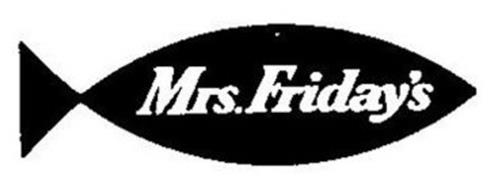 MRS. FRIDAY'S
