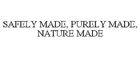 SAFELY MADE, PURELY MADE, NATURE MADE