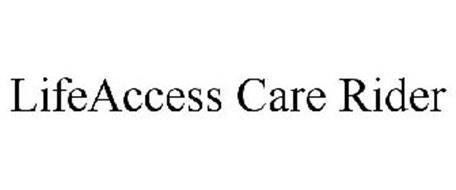 LIFEACCESS CARE RIDER
