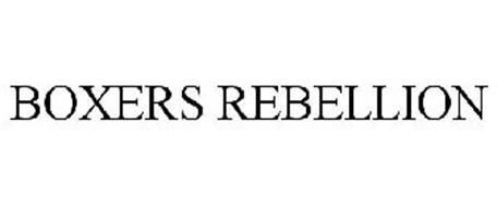 BOXERS REBELLION