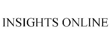 INSIGHTS ONLINE