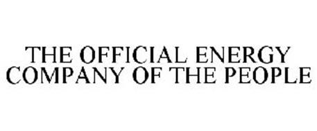 THE OFFICIAL ENERGY COMPANY OF THE PEOPLE