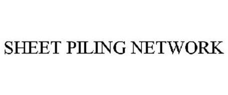 SHEET PILING NETWORK