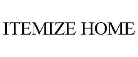 ITEMIZE HOME
