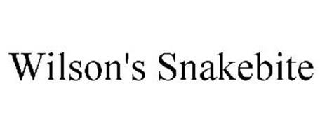 WILSON'S SNAKEBITE