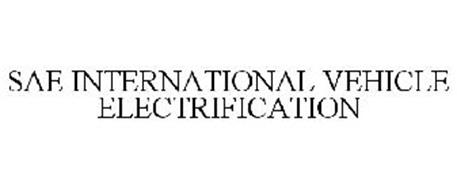 SAE INTERNATIONAL VEHICLE ELECTRIFICATION