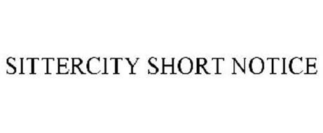 SITTERCITY SHORT NOTICE