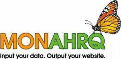 MONAHRQ INPUT YOUR DATA.OUTPUT YOUR WEBSITE.