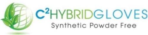 C2 HYBRIDGLOVES SYNTHETIC POWDER FREE