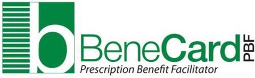 B BENECARD PBF PRESCRIPTION BENEFIT FACILITATOR