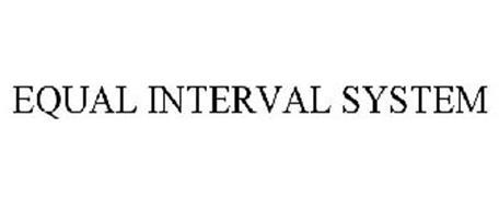 EQUAL INTERVAL SYSTEM
