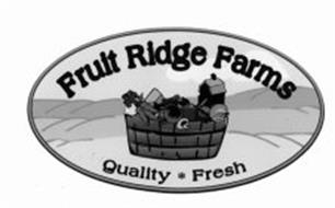 FRUIT RIDGE FARMS QUALITY FRESH