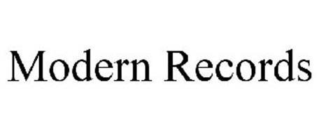 MODERN RECORDS