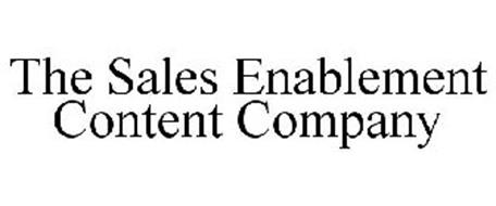 THE SALES ENABLEMENT CONTENT COMPANY