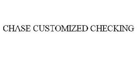 CHASE CUSTOMIZED CHECKING