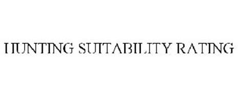 HUNTING SUITABILITY RATING