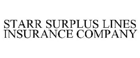 STARR SURPLUS LINES INSURANCE COMPANY