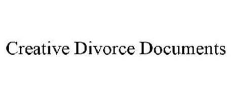 CREATIVE DIVORCE DOCUMENTS