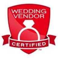 WEDDING VENDOR CERTIFIED