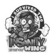 I SURVIVED THE INSANITY WING EAST COASTWINGS
