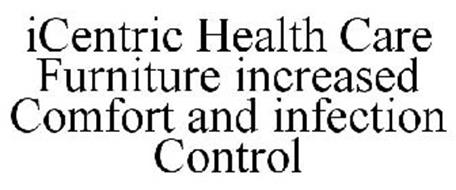 ICENTRIC HEALTH CARE FURNITURE INCREASED COMFORT AND INFECTION CONTROL