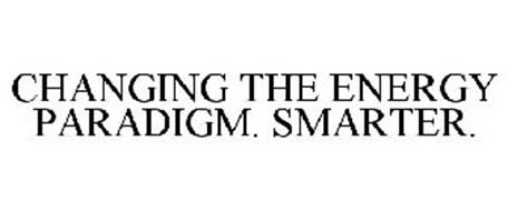 CHANGING THE ENERGY PARADIGM. SMARTER.
