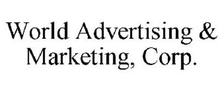 WORLD ADVERTISING & MARKETING, CORP.