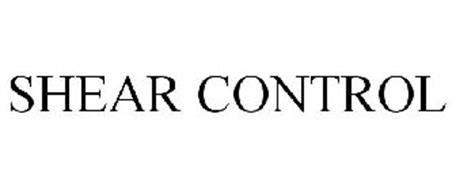 SHEAR CONTROL