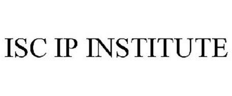 ISC IP INSTITUTE