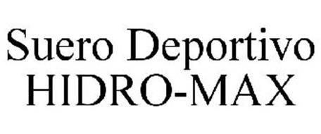 SUERO DEPORTIVO HIDRO-MAX