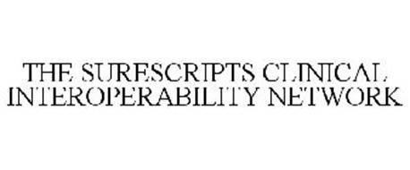 THE SURESCRIPTS CLINICAL INTEROPERABILITY NETWORK