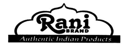 RANI BRAND AUTHENTIC INDIAN PRODUCTS