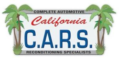 COMPLETE AUTOMOTIVE RECONDITIONING SPECIALISTS CALIFORNIA C.A.R.S.