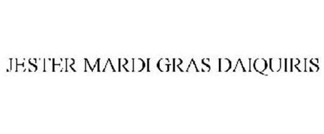 JESTER MARDI GRAS DAIQUIRIS