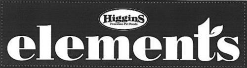 ELEMENTS HIGGINS PREMIUM PET FOODS